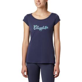 Columbia Shady Grove T-shirt Damer, blå